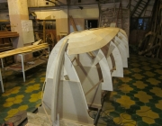 wood boat building