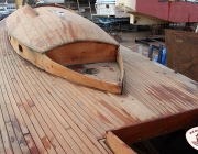 wood sailboat for sale
