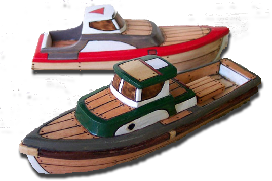 carved-wooden-boats